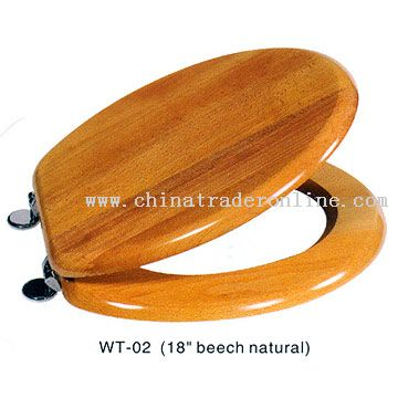 Beech Natural Toilet Seat