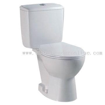P-Trap Toilet