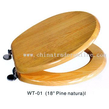 Pine Natural Toilet Seat