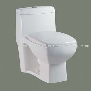 S-Trap One Piece Toilet