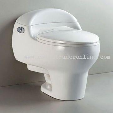 S-Trap Toilet
