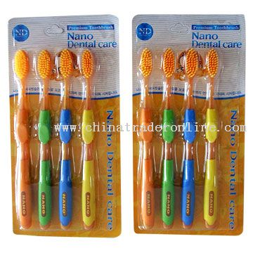 Tipped Bristles Toothbrushes