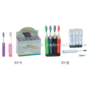 Toothbrushes For Trip