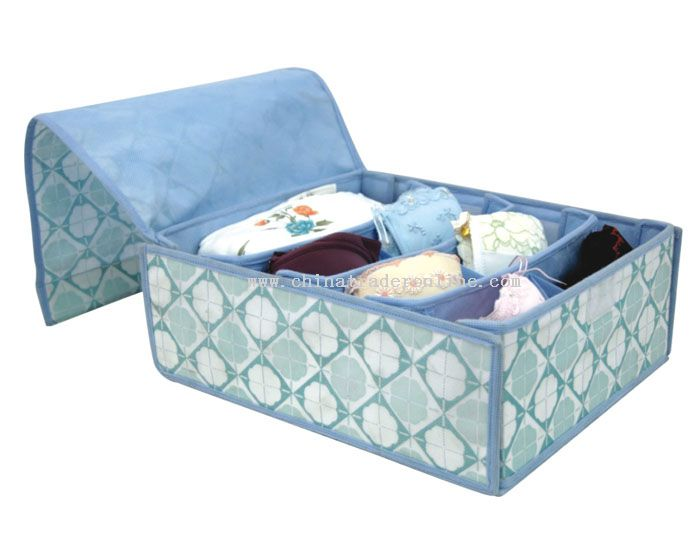 Soft Cover Bra Storage Box From China