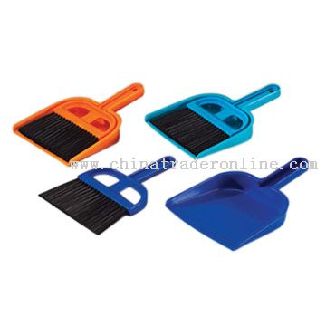 Dustpans with Brushes