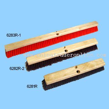 Push Brooms (Wood Block)