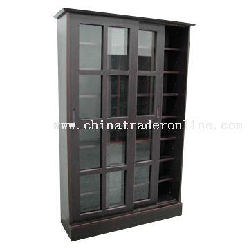 CD Cabinet with Sliding Door
