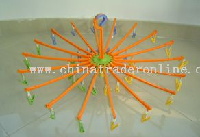 Household Essentials 3-Arm Portable Umbrella Clothing Dryer