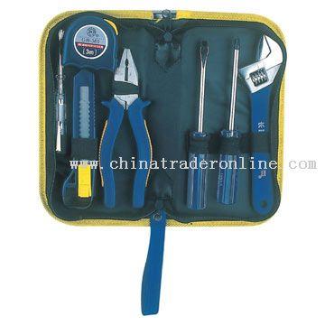 7pcs DIY Tool Kit in Canvas Bag