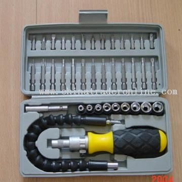 Screwdriver and Bit Set