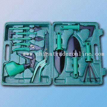 10-Piece Quality Garden Tool in a Compact Blown C