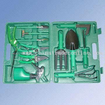 12-Piece Full-Function Garden Tool Set in a Blown Case