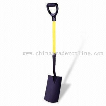 Stainless Steel Digging Spade with Mirror-polished Blade