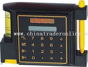 Tape with pen & calculator from China