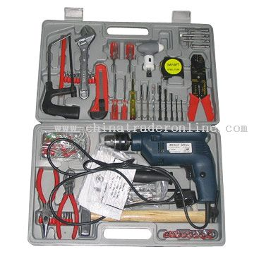 187pcs Electric Tool Set