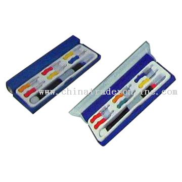 7pcs Screwdrivers and Torch