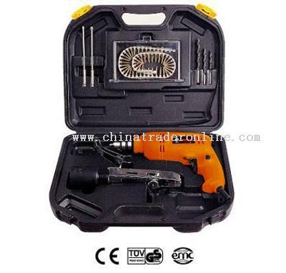 Electric auto screw driver set