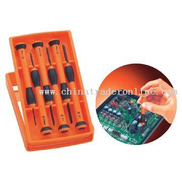 Screwdriver Precision Set 6pc