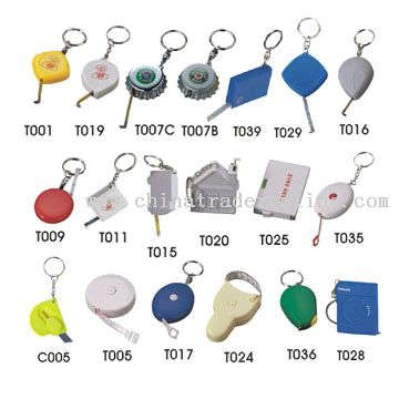 Measuring Tape Key Chains