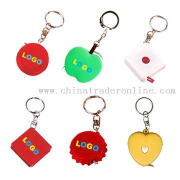 Tape Measure With Key Chains