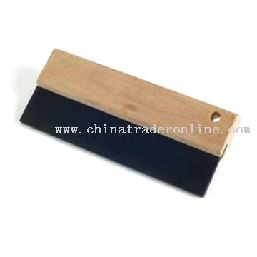 Black Rubber Squeegee