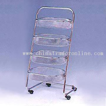 4-Tier Kitchen Trolley