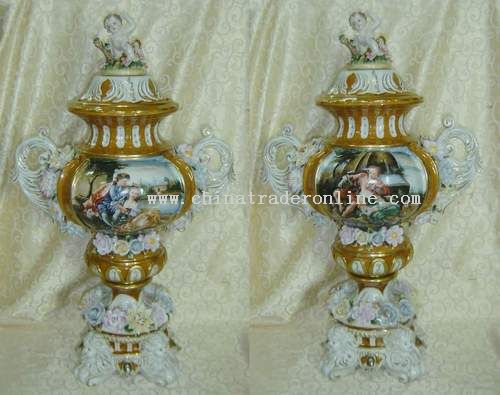 Antique Replicas Porcelain Vases