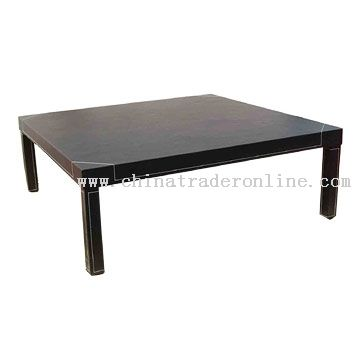 Faux Leather Coffee Table from China