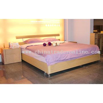 wholesale Bedroom Furniture Set, Double Bed-buy discount Bedroom ...