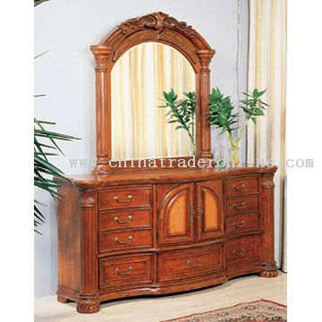 dresser and mirror from china
