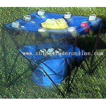 Camping Table with Cooler