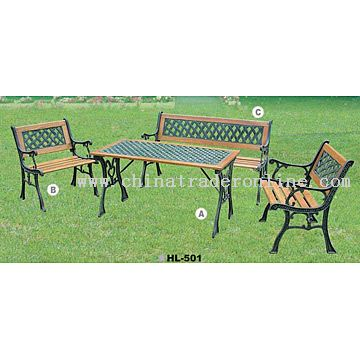 4pc Park Furniture Set
