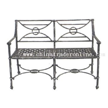 wholesale Cast Aluminium Garden Bench buy discount Cast Aluminium