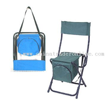 Folding Fishing Chair with Cooler