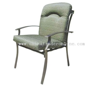 PVC Strap Cushion Chair