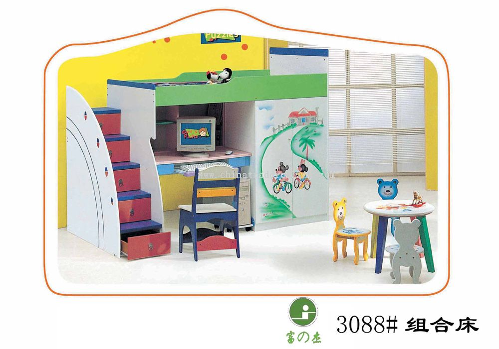 Wholesale Kids Bed Buy Discount Kids Bed Made In China CTO7718