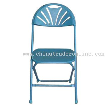 Steel Plastic Folding Chair