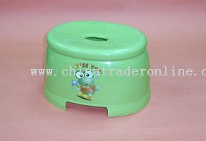 egg-shaped stool(S)