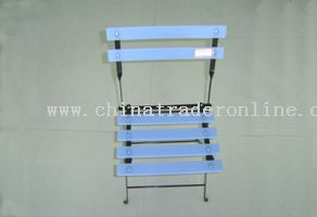 iron-foot square foldable chair(M)