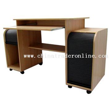 wholesale computer desk with sliding doors buy discount computer
