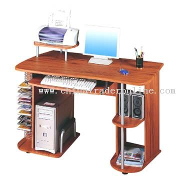 Computer Table in Traditional Style