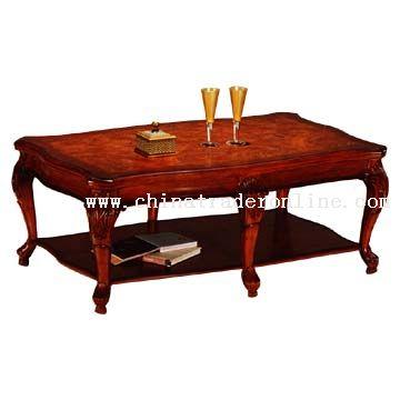 Ash Burl Coffee Table