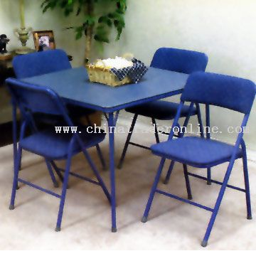 Bridge Table and Chairs