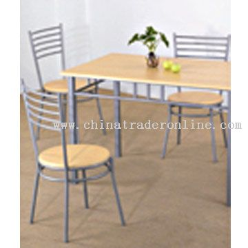 Dining Set (1 Table with 4 Chairs)