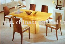 Gold Jade Dining set