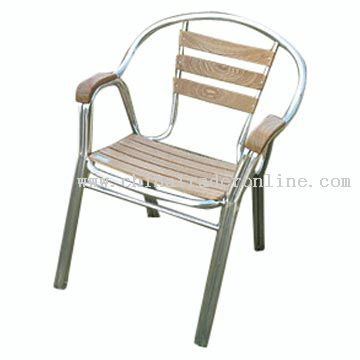 Aluminum-Wood Chair