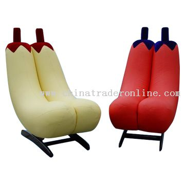 Banana Shaped Rocking Chairs
