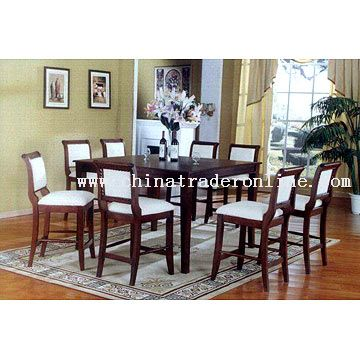 Pub Table and Pub Chairs