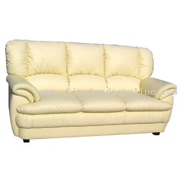 Real Leather Sofa from China