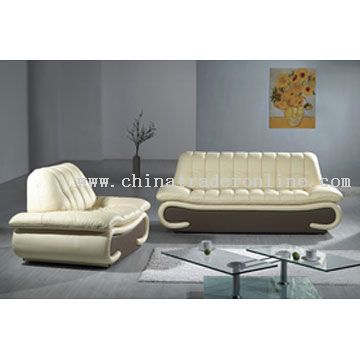 Modern Leather Sofa From China